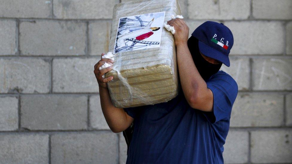Marihuana incautada en México