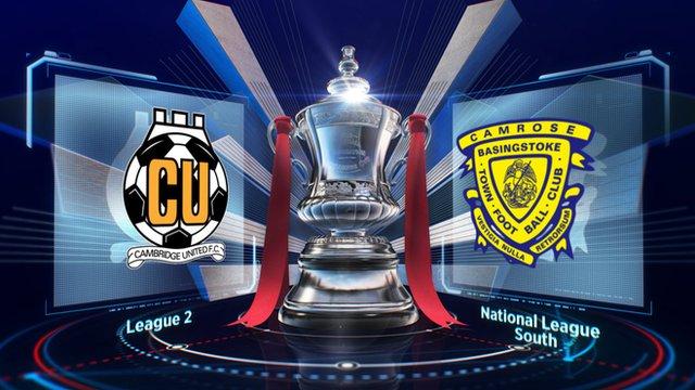 Highlights: Cambridge 1-0 Basingstoke