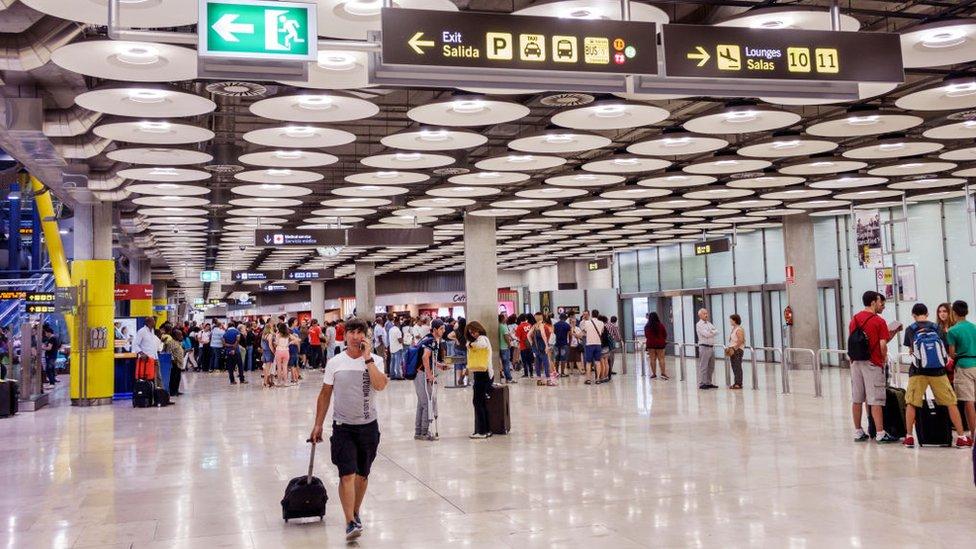 Aeropuerto de Madrid, Barajas