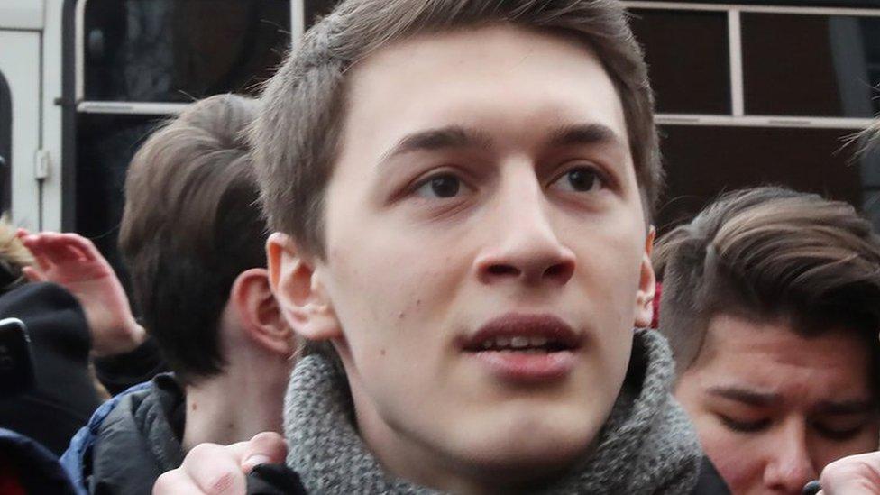 Егор Жуков получил 3 года условно. Его видеоролики сочли призывами к экстремизму