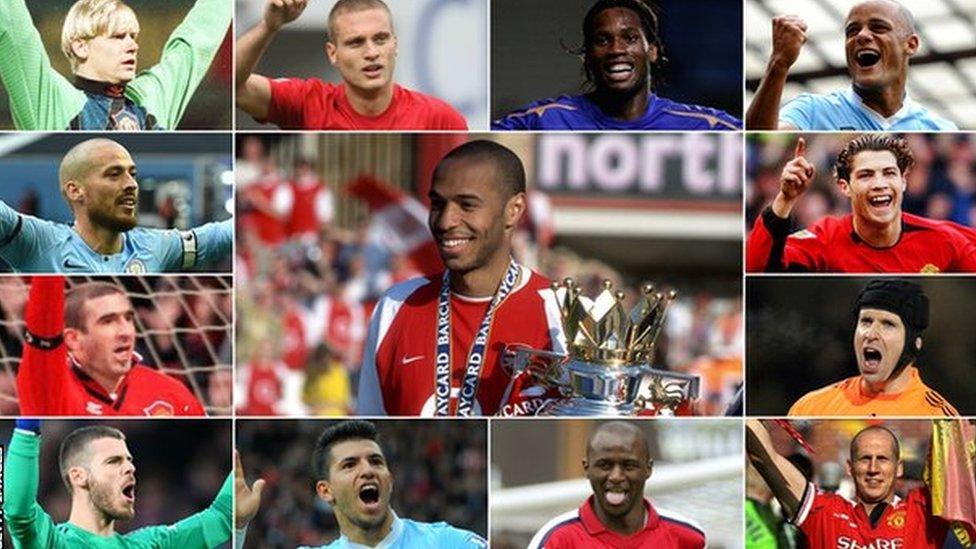 Na užem spisku za najboljeg stranca u istoriji Premijer lige našlo se 13 fudbalera