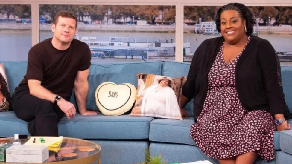 Dermot O'Leary and Alison Hammond