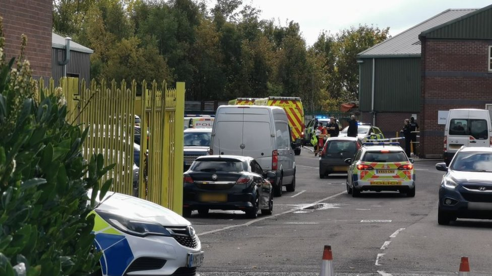 Picture of the scene at Bridges Business Park in Horsehay