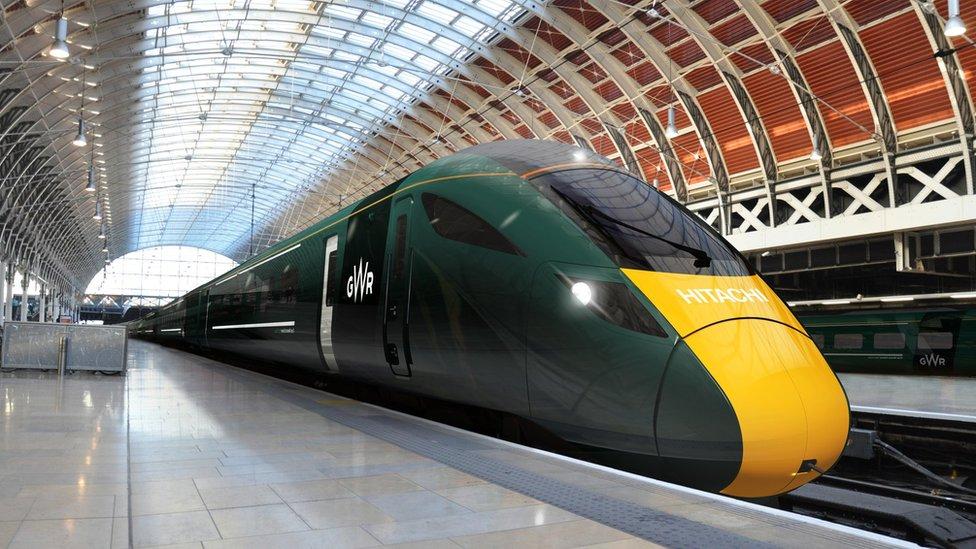 Tren newydd GWR