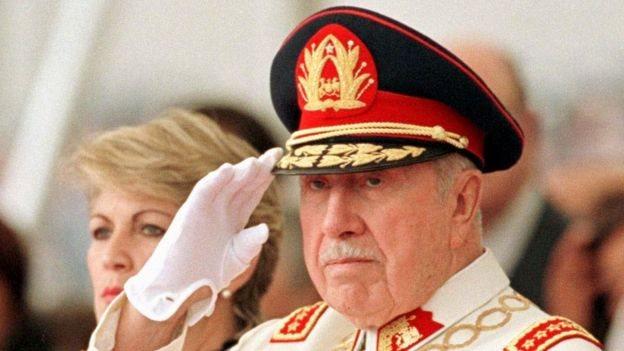 Військовий диктатор Августо Піночет