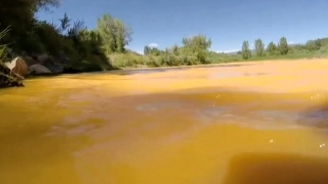 Millions of gallons of water polluted with heavy metals has poured into the Animas River