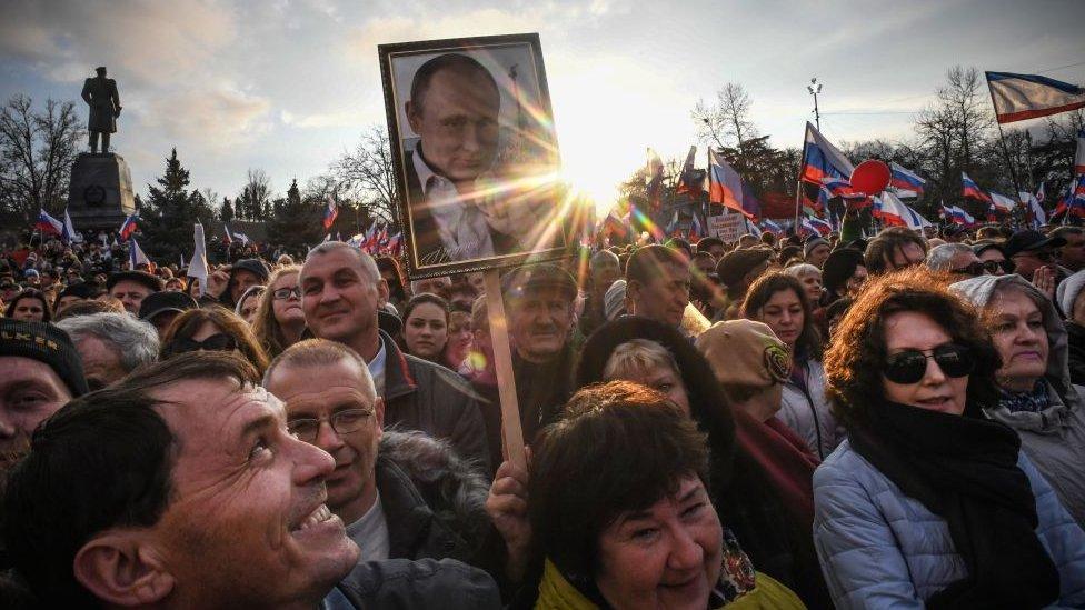 apoyos a Putin