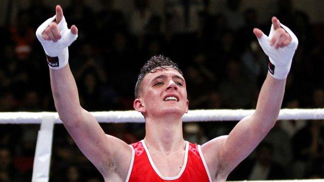 Belfast Boxer Brendan Irvine