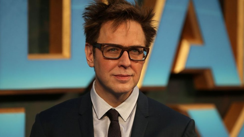 Guardians of the Galaxy director James Gunn at the second film's premiere