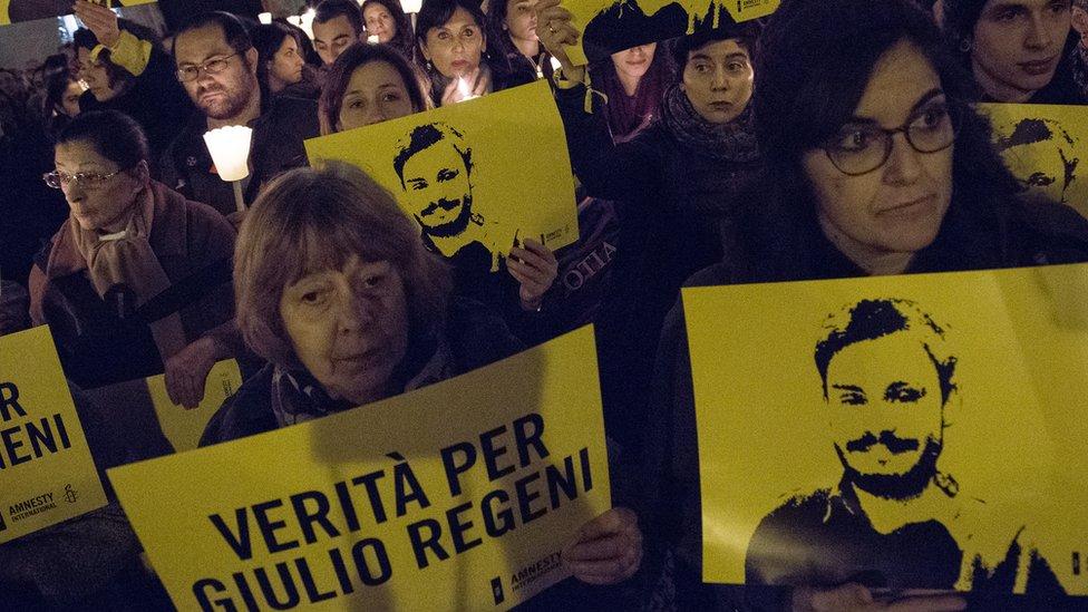 قرار البرلمان الأوربي ترافق مع تصعيد ايطالي في قضية ريجيني