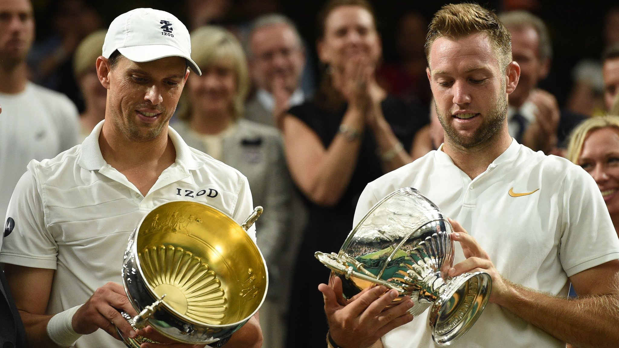 Wimbledon 2018: Doubles titles for Bryan & Sock and Siniakova & Krejcikova