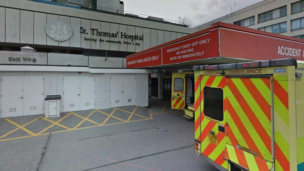 hospital Guy's and St Thomas