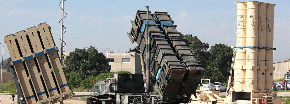 Israeli anti-missile system (file photo)