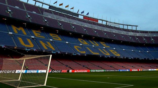 Tottenham angry over 'lenient' £17,500 Uefa fine for Barcelona