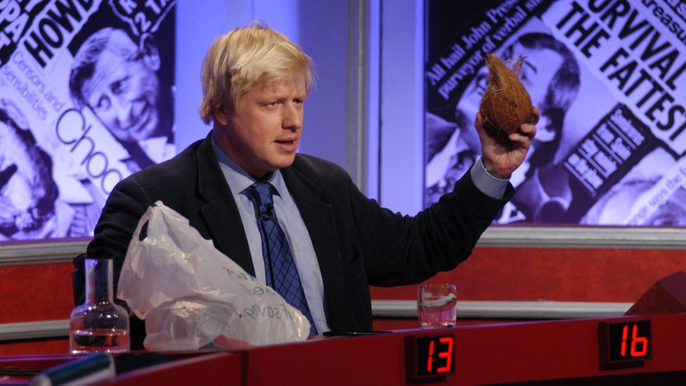 Boris Johnson on Have I Got News For You