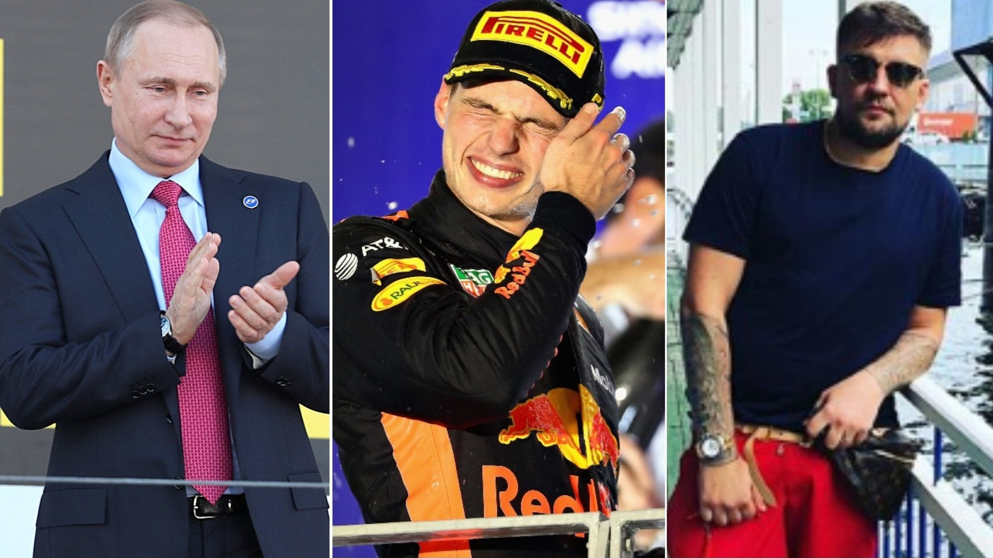 Russian Grand Prix: Verstappen turns 21 with a rapper & engine penalty
