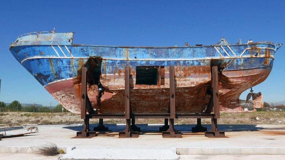 Venice Biennale: Is exhibiting tragic migrant ship distasteful?