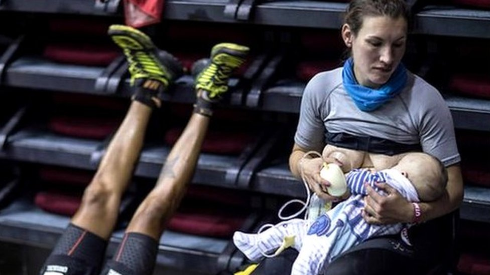 Ultra runner Sophie Power on breastfeeding during a 103-mile race