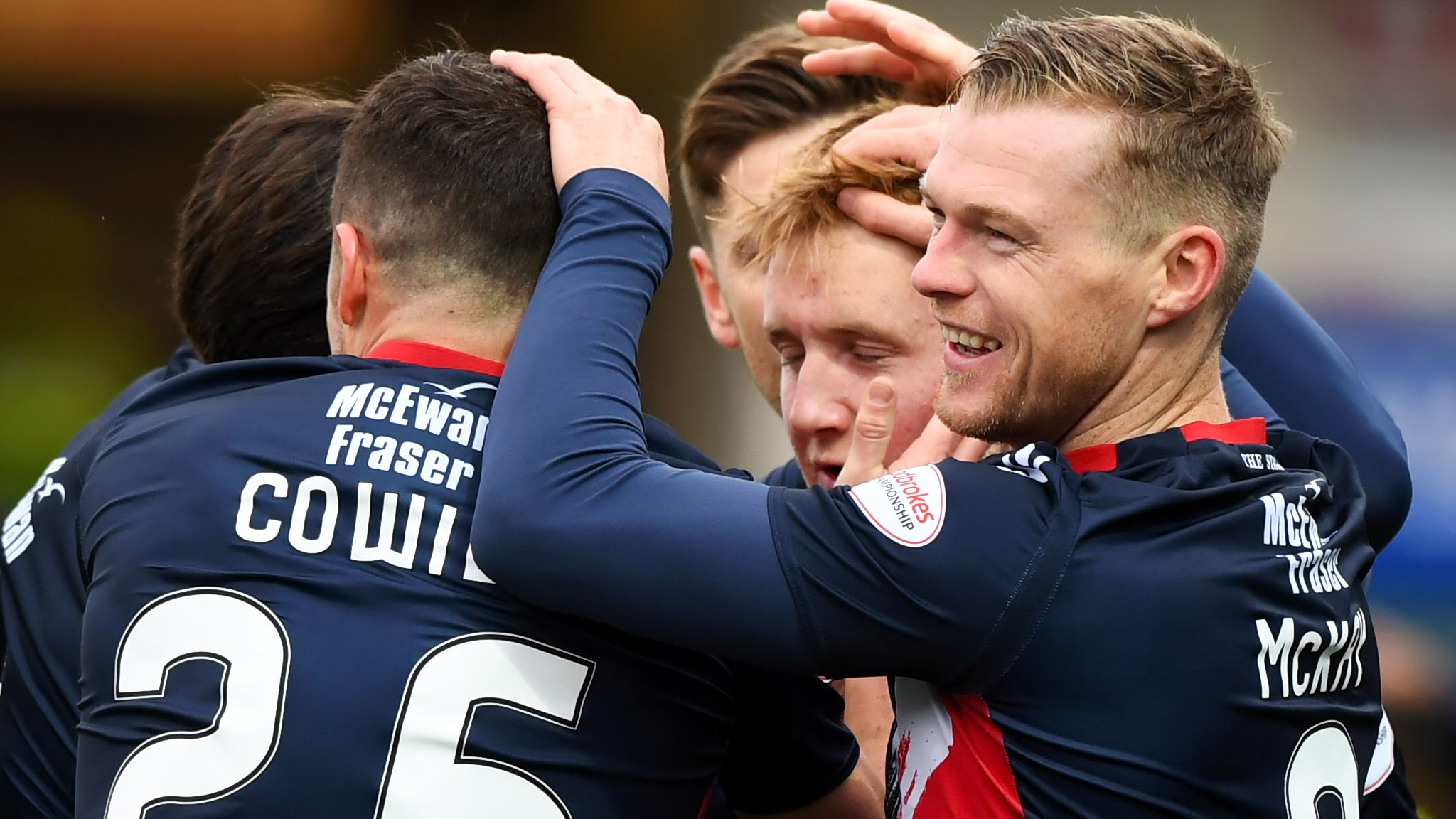Ross County 5-0 Morton: Dingwall side stay top of Championship