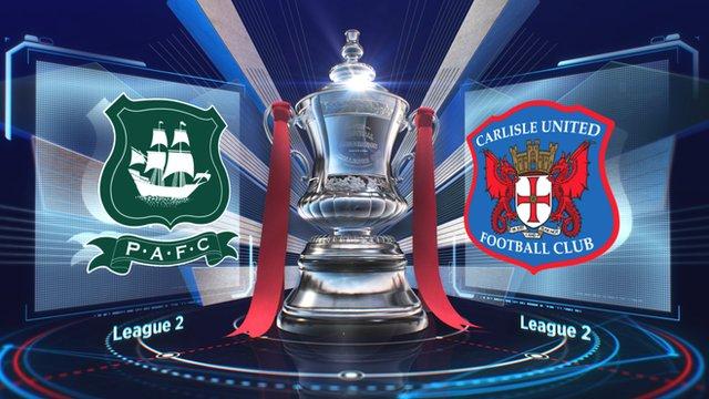 Plymouth 0-2 Carlisle