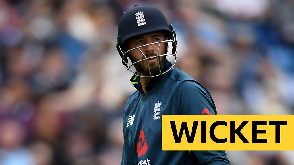 Watch: England opener Vince falls for 33