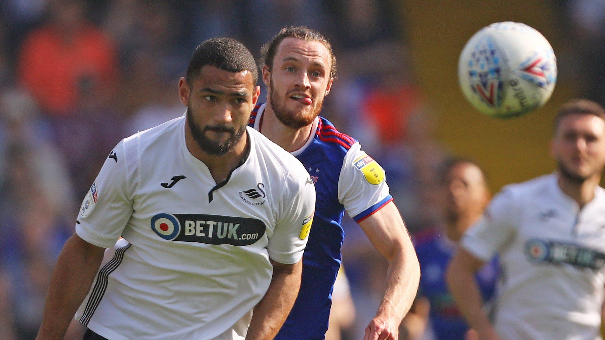 Ipswich Town 0-1 Swansea City: Swans halt losing away run