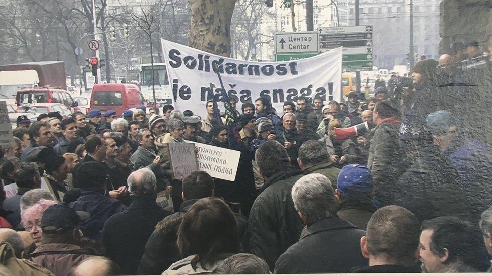 Štrajk radnika Trudbenika nakon privatizacije 2009. godine