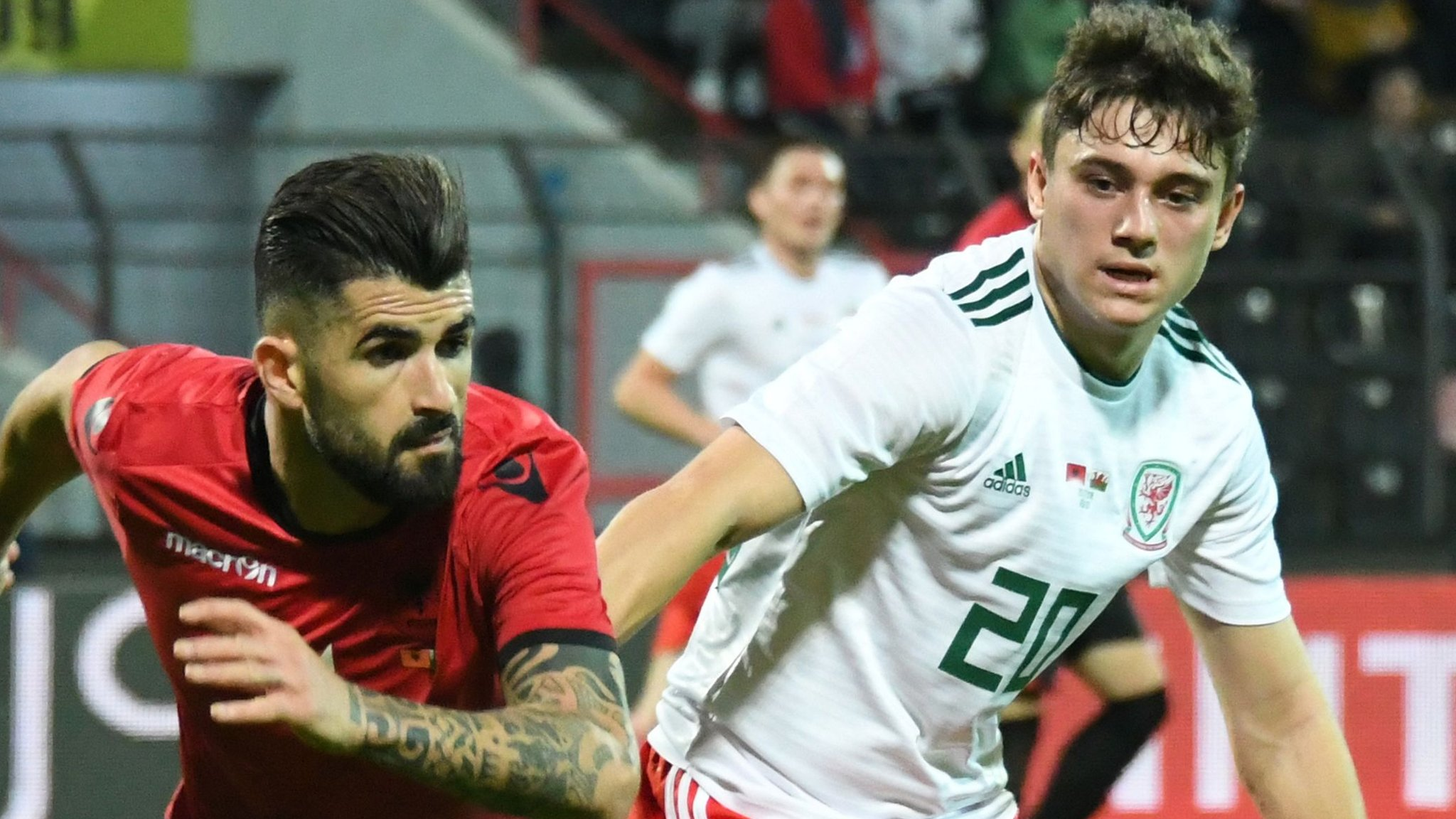 Albania 1-0 Wales: Humbling defeat for Giggs as Gunter breaks caps record