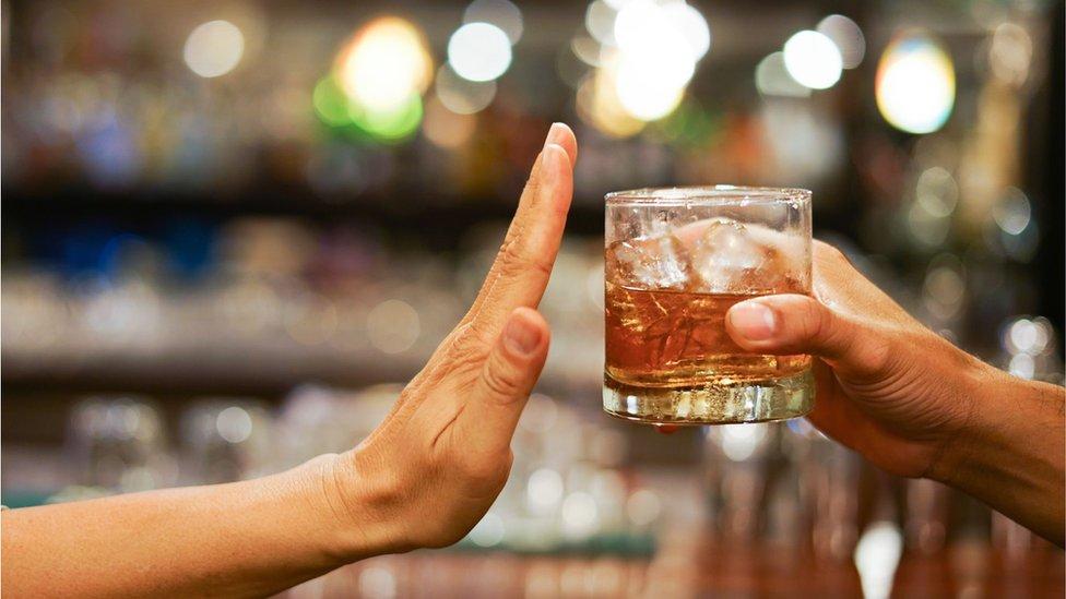 alkohol odbijanje alkohola piće