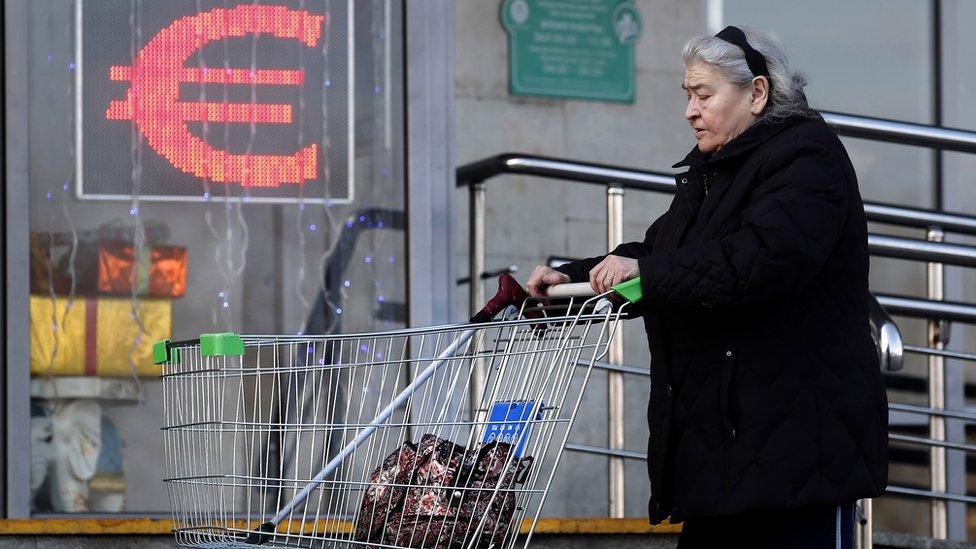 Курс евро превысил отметку 91 рубль впервые с начала 2016 года