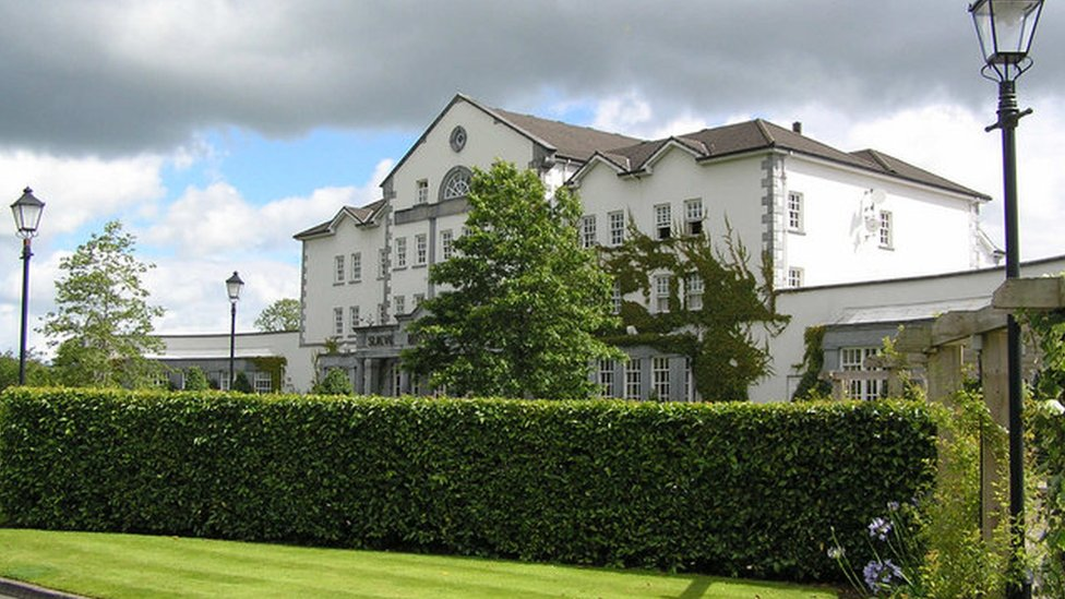The Slieve Russell Hotel and golf course