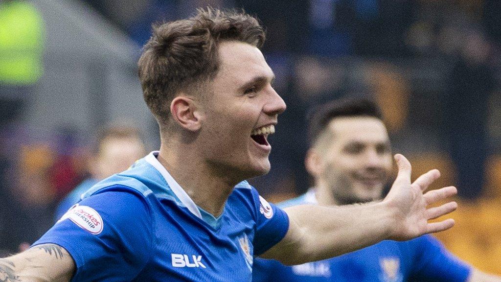 St Johnstone 2-0 Hamilton: Easy Scottish Cup win for Perth side