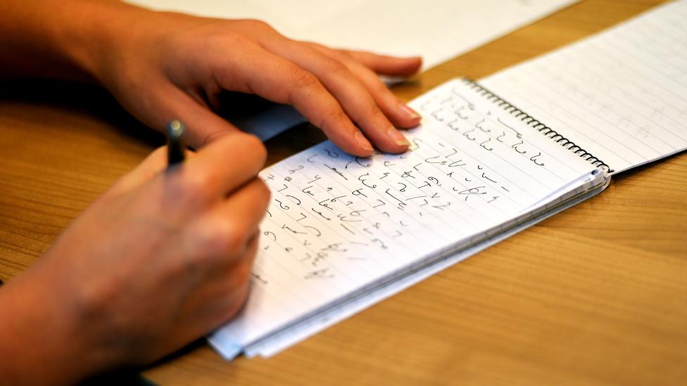 Writing Teeline