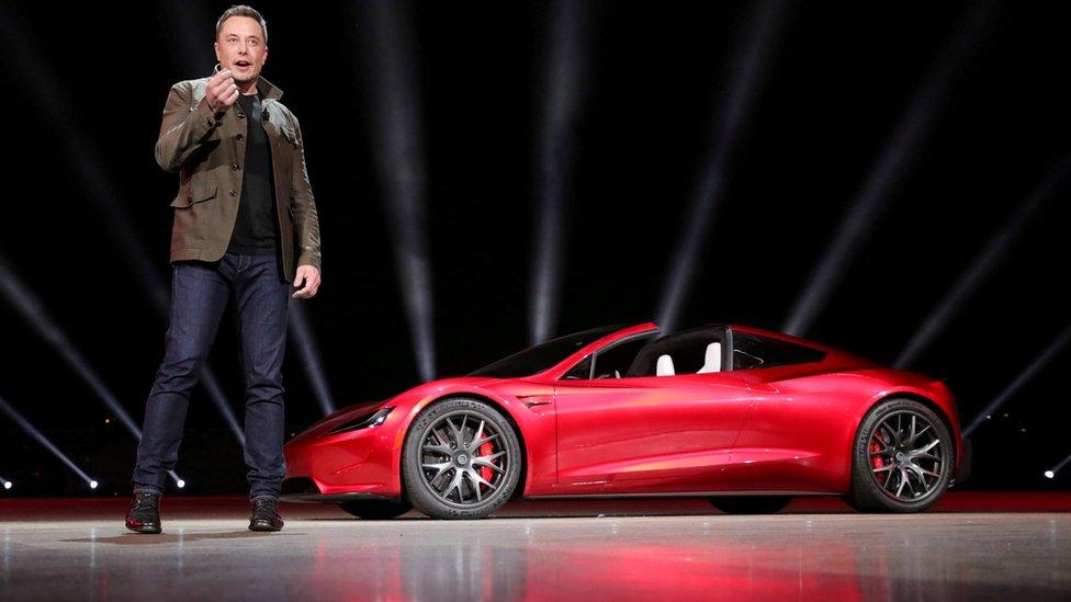 Elon Musk unveils the Tesla Roadster 2 in November