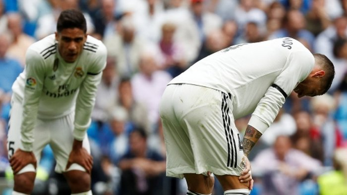 Real Madrid suffer fourth defeat in five games and set unwanted club record