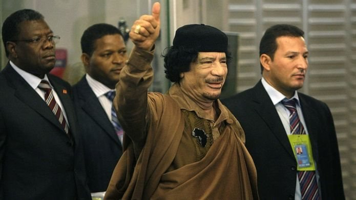 Muammer Kaddafi 2011'de devrilmişti