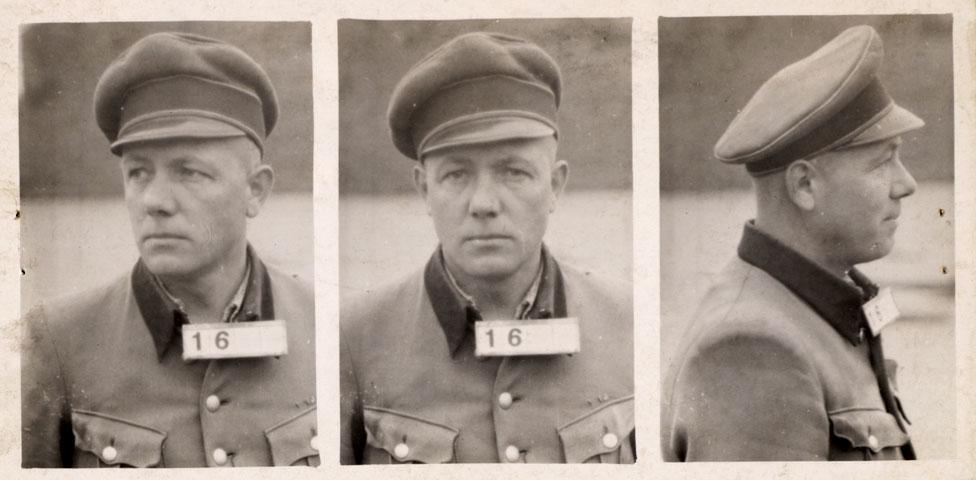Camp Commander Karl Peter Berg