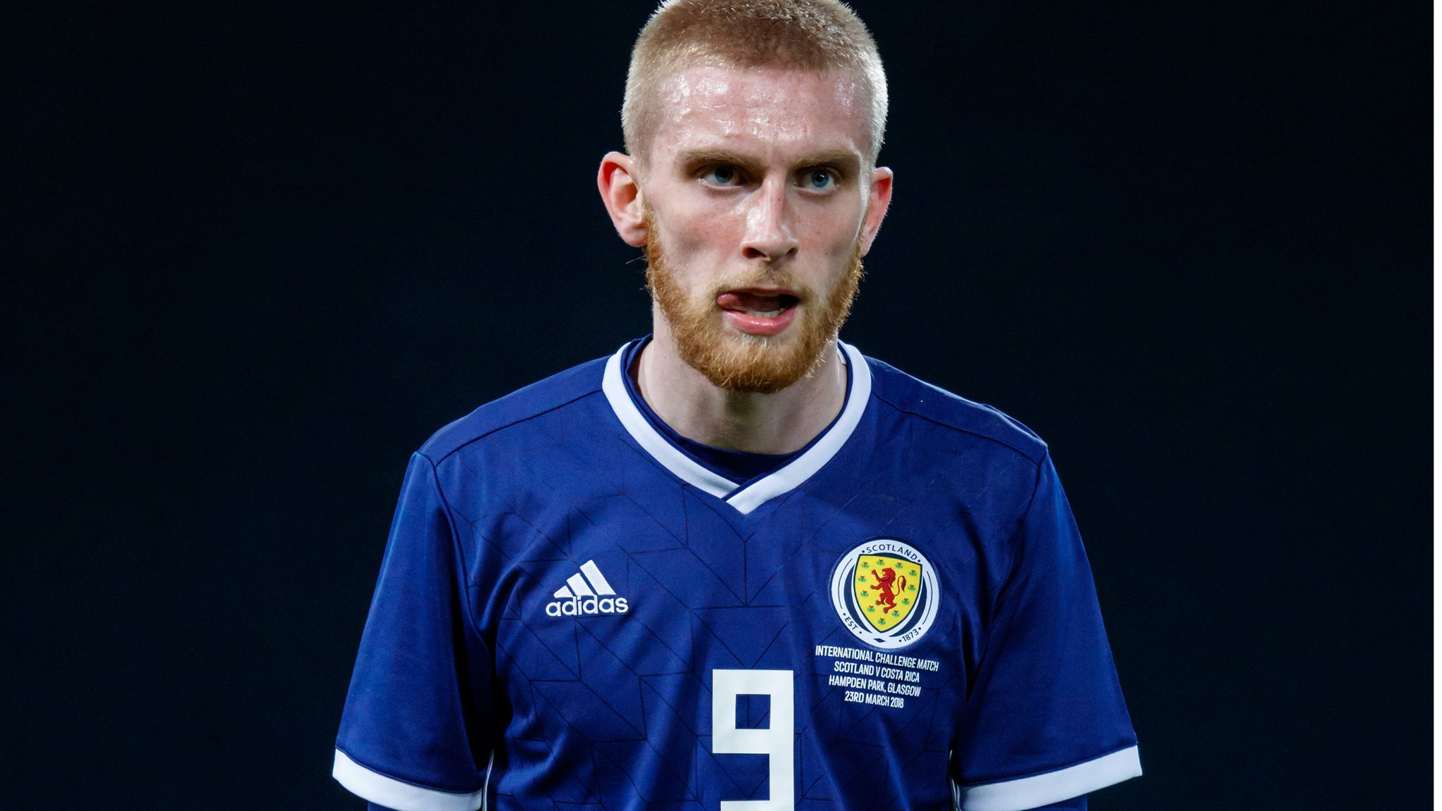 'I want to be Scotland's number nine' - McBurnie