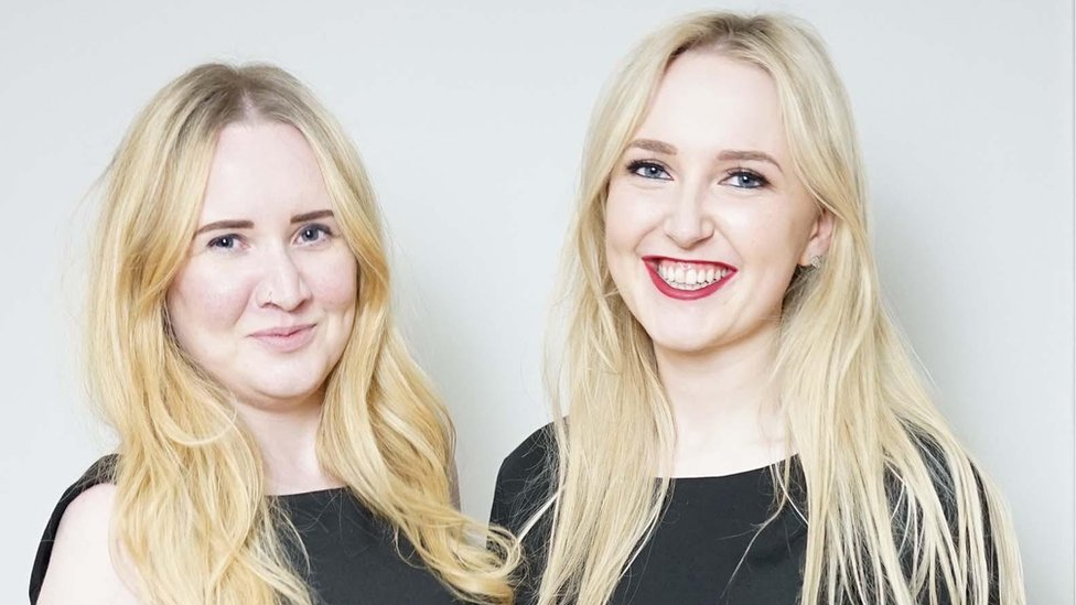 Laura and Rachel founded sustainable fashion brand Careaux