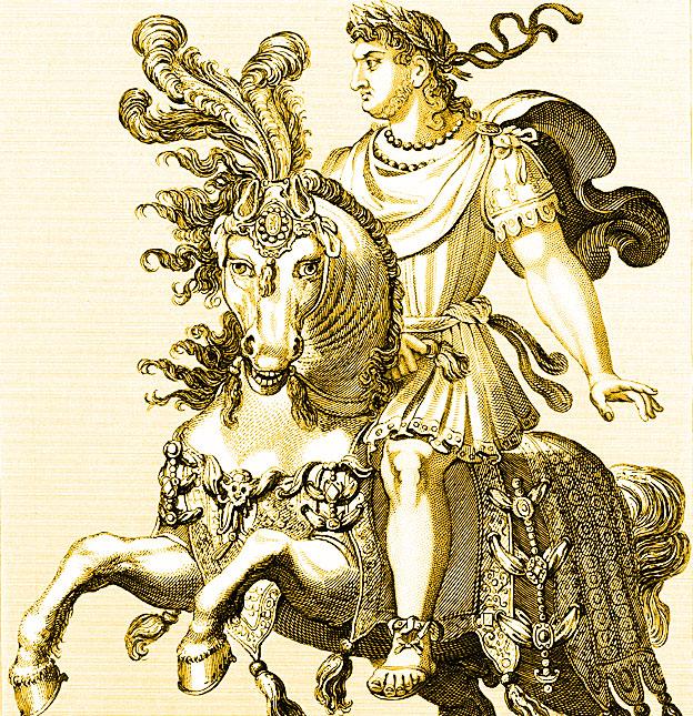 Nerón (37-68), emperador romano entre 54-68