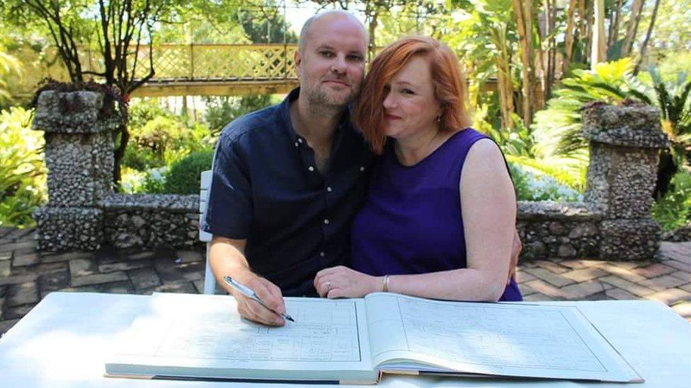 Matthew Cole and Kate Stewart