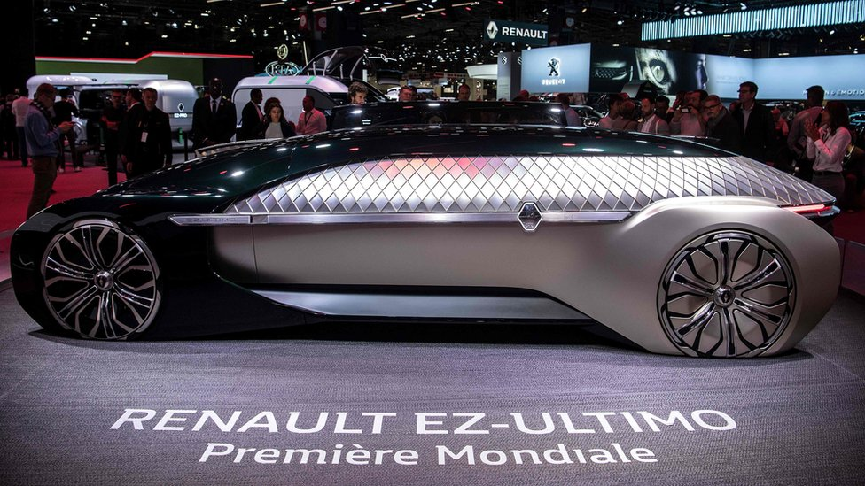 Renault's EZ-Ultimo