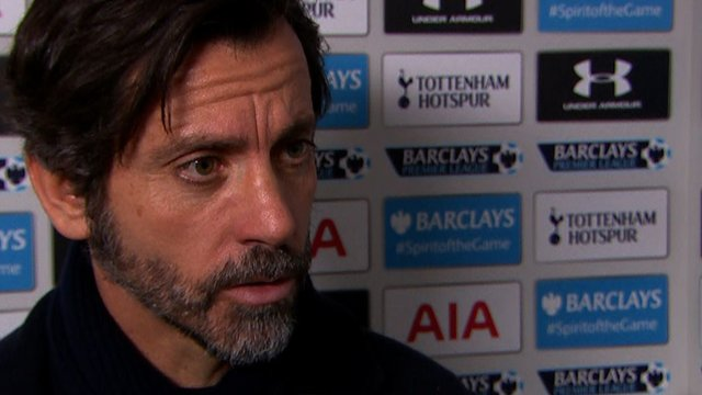 Watford head coach Quique Sanchez Flores