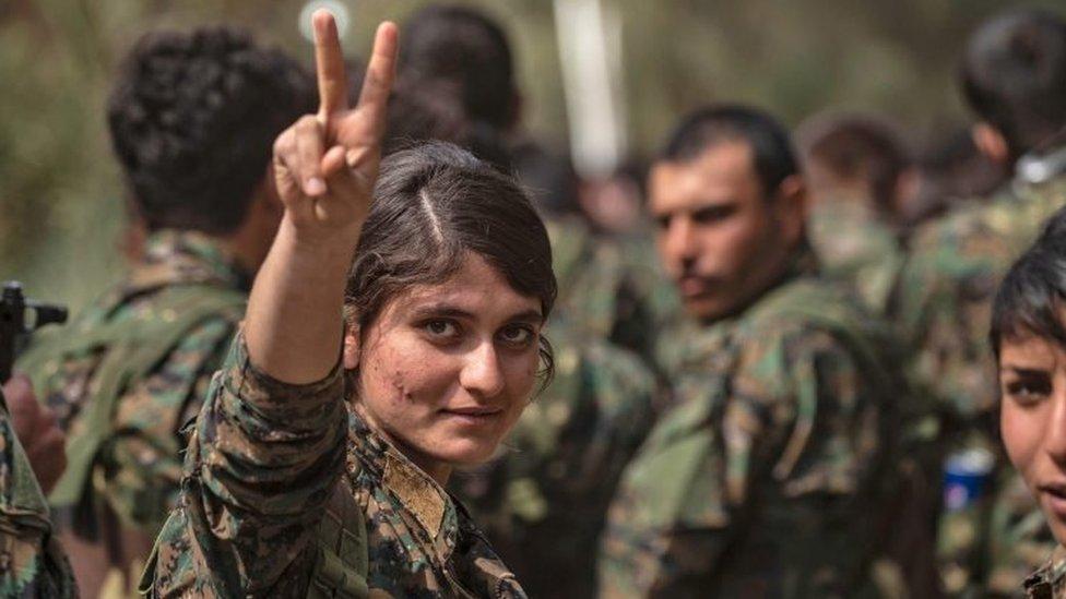 'सीरिया से इस्लामिक स्टेट का नामोनिशान ख़त्म'