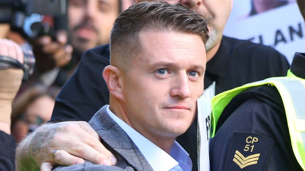 Rape charity gets abusive calls after Tommy Robinson post