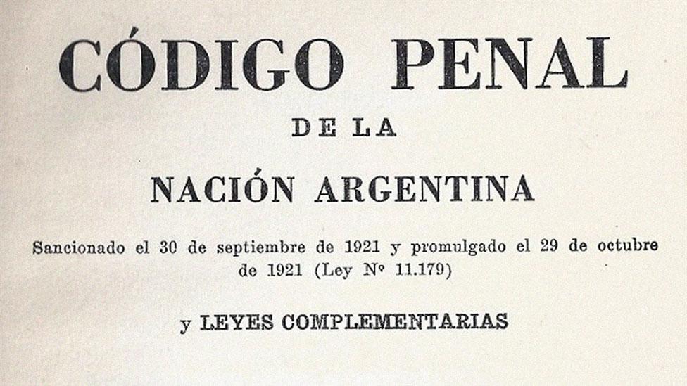 Código Penal de Argentina