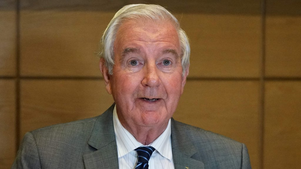 Russia doping: Wada head Sir Craig Reedie defends Russian reinstatement decision