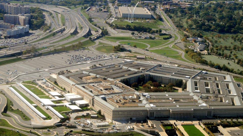 Sede del Pentágono.