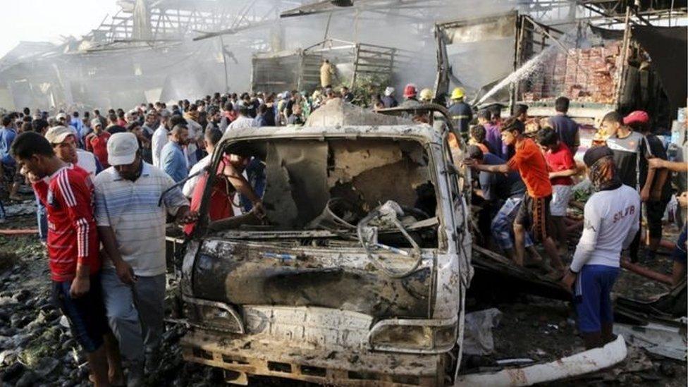 巴格達爆炸