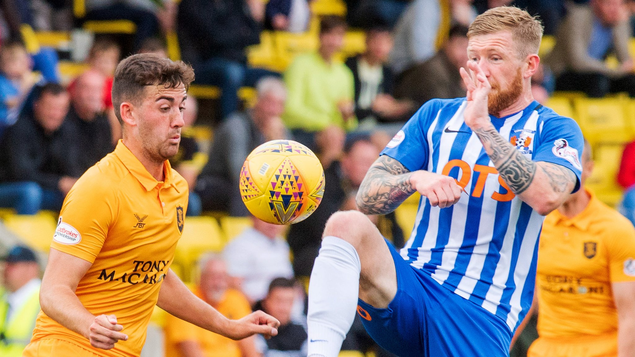 Livingston hold Kilmarnock to 0-0 draw and secure first Premiership point
